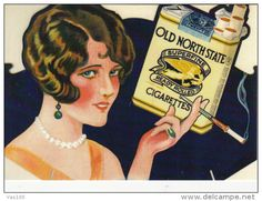 CPA ADVERTISING, TOBACCO, OLD NORTH STATE CIGARETTES