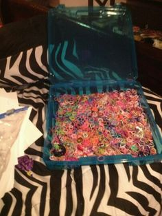 Rainbow loom storage case sold at michaels