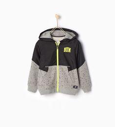 Afbeelding 1 van Sportief sweatshirt ' van Zara