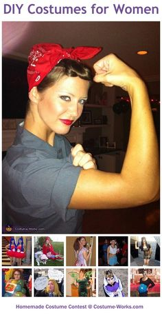 Homemade Costumes for Women - a lot of DIY costume ideas! Saving this for halloween