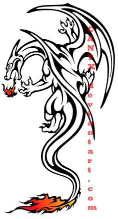 aztec charizard tattoos - Google Search
