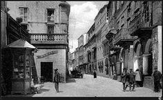 Rúa do Vilar. Santiago de Compostela años atrás