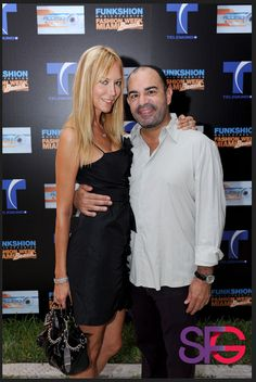 Carl Kruse and Griselda Lechini at the Funkshion event in Miami  #KruseandLechini http://sfgmag.com/wp-content/uploads/2012/10/Griselda-Lechini-Carl-Kruse.jpg