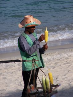 Food selling on the beach - Koh Samui
