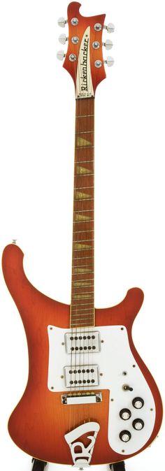 1976 Rickenbacker Fireglow guitar