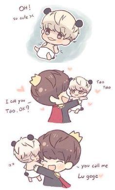 Tao & Luhan chibi fanart