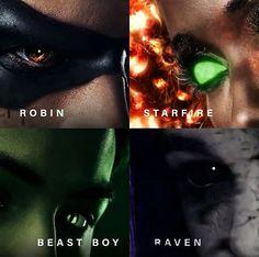 Starfire And Beast Boy, Robin Starfire, Dc Universe, Steven Universe, Titans Tv Series, Bbrae, Dc Legends Of Tomorrow, Teen Titans Go, Deathstroke