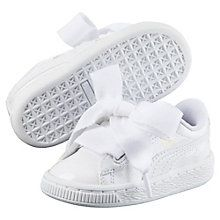check out a398b a46c4 Chaussure Basket Heart Patent pour fille