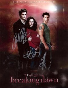 Twilight Cast #11 Autographed Picture ......... FREE SHIPPING