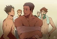 RANDOM PUNKლ(Wڡ눈ლ) : Photo || They're all looking at perfect Daichi's back huh? Keep your eyes up bitches, he's mine