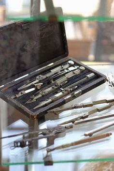 compasses, vintage, antique