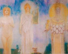 1913 Orphée, Fernand Khnopff