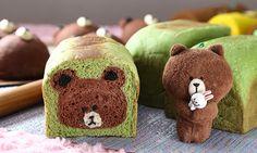 Cute Snacks, Cute Desserts, Cute Food, Puff And Pie, Japanese Pastries, Bread Maker Recipes, Kawaii Bento, Bread Shaping, Cute Buns