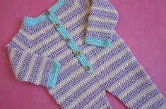 Free Pattern - Baby Dungarees Crochet - Crafts Ideas Free