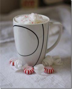 Peppermint latte.