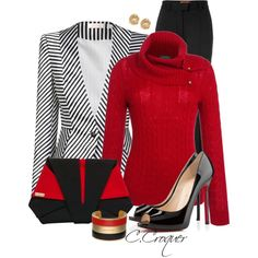 Black & Red for the Office