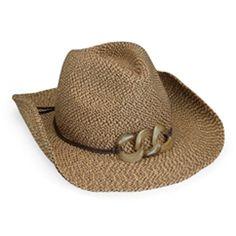 SPF UPF 50+ - Stylish Sierra Straw Cowboy Hat for Women Cowboy Hats For ef1ce9e2236a