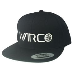 6d333933bdc Warco Iconic Snapback Hat (Black)  24.95 Snapback Hats