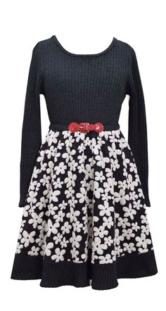 a decorative floral patterned dress that will be perfect for those upcoming recitals.