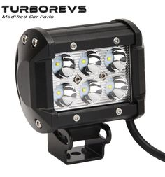18W CREE LED FLOODLIGHT WORK LIGHT LAMP CAR VAN TRUCK 4X4 RECOVERY TRAILER