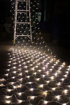 Extra Long Net Lights, 150CT Frosted Bulb  2 X 12 FT White Cord Weatherproof, Connect End to End
