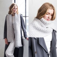 Шарф спицами | Шарфы | Scarf | Knitting