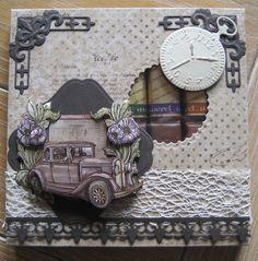 cadeaudoosje met chocolade