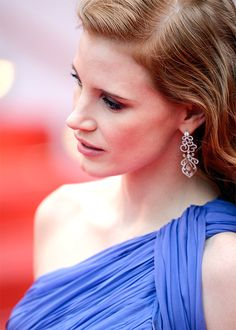 genarowlands:  Jessica Chastain attends the Foxcatcher premiere during the 67th Annual Cannes Film Festival on May 19, 2014 in Cannes, France.