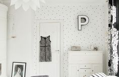 Tuesday DIY: fab yet simple way to update a wall