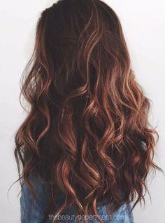 Quando eu enrolar meu cabelo para alguma festa quero que fique assim!!!