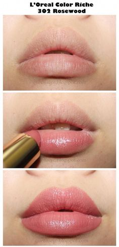 """✿ღ Queen's Eye ღ✿: L'oreal Color Riche Lipstick Rosewood"""" - Makeup Ideas Beauty Make-up, Hair Beauty, Beauty Tips, Makeup Inspo, Makeup Inspiration, Makeup Ideas, Makeup Geek, Witch Makeup, Clown Makeup"""