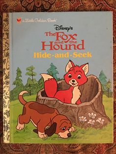Disney's The Fox and the Hound Hide-and-Seek 2006 First Random House Edition