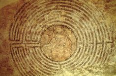 Christ in the labyrinth ~ Alatri - http://universal-wellness.blogspot.com/2015/02/baring-my-soul-and-planting-dream.html