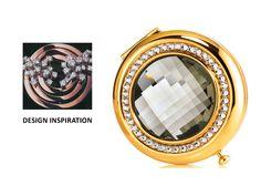 Estee Lauder - Limited Edition - 2008 - Compact Winter Saks Blk Diamond