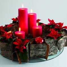 Floradania Marketing: Din levende adventskrans