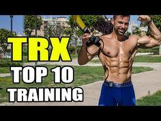 Entrenamiento para ganar músculo fuera del gimnasio: el TRX