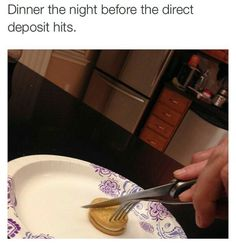Fine dining: | 22 Pictures That Are Life When You're Not Fucking Made Of Money