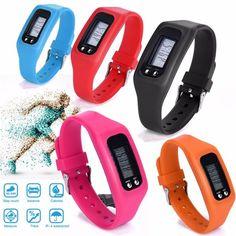 Women Men Children Digital LCD Pedometer Run Step Walking Distance Calorie Counter Watch Bracelet High Qulity Hot Maketing M1 #Affiliate