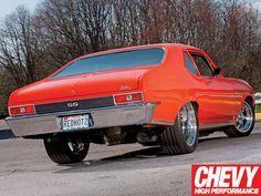 1972 Chevy Nova Ss Rear View