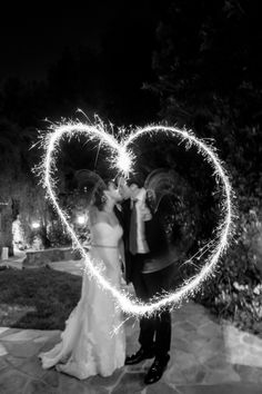 #Sparklers | On SMP: http://www.stylemepretty.com/little-black-book-blog/2013/09/19/encino-california-wedding-from-maya-myers-photography/ Maya Myers Photography