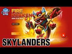 Skylanders Swap Force Fire Kraken Combinations #skylanders #toys #collecting