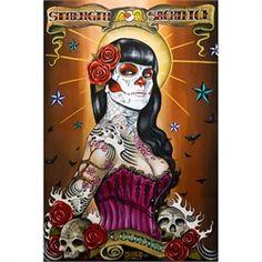 Sexy Latina Tattoo Art