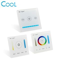 Get P1 P2 P3 MiLight Smart Touch Panel Controller 5A/CH Color Temperature CCT/Dimming/RGB RGBW RGB+CCT For Led Strip,Panel Light #MiLight #Smart #Touch #Panel #Controller #5A/CH #Color #Temperature #CCT/Dimming/RGB #RGBW #RGB+CCT #Strip #Light