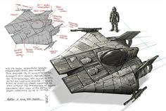 Rebel A Wing Fighter, Shane Molina on ArtStation at https://www.artstation.com/artwork/1xbze