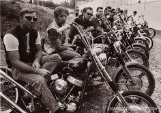 Outlaw MC Club Panhead Chopper Beatniks 1969