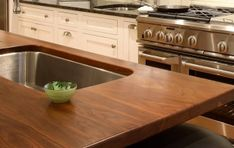 kitchen island top free makeover 7 best black walnut ideas images with sink countertop options wood countertops butcher block