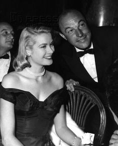 Gene Kelly and Grace Kelly.