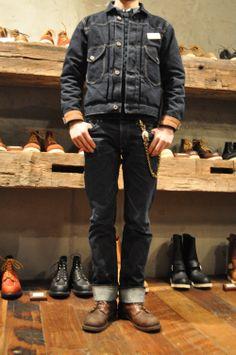 Red Wing Shoe Store Korea Staff Daily Coordination Iron Range - #8111