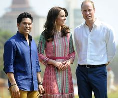 Wills and Catherine were delighted to rub shoulders with one of India's greatest legends, cricketer Sachin Tendulkar, in South Mumbai. The Duke and Duchess of Cambridge have kicked off their week-long tour of India and Bhutan on April 10, 2016.