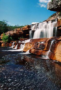 Cachoeira do Mosquito - Lençóis, Bahia -BRASIL